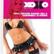 AL129037XO 1 180x180 - Noir Faux Leather Eyelet Corset Black, Silver OS