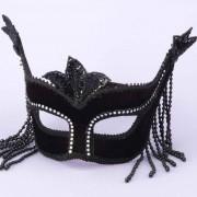 FN5952354cb963e1e085 180x180 - Venetian Half Mask Sequins White