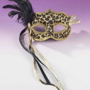FN658835454889fd3523 180x180 - Mask Venetian Black Lace with Beads O/S