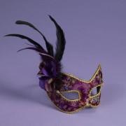FN7364454cb96421dcc2 180x180 - Half Mask Fancy Butterfly, Rose Lace Black