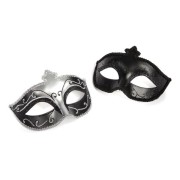 FS52420544759a5819c6 180x180 - Mask with Glasses Black Satin Feather O/S