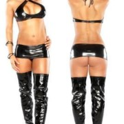 MSB569BKSM 180x180 - Luv Lace Bra, Garter Skirt & G-String Black L/XL