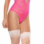 MSB615PINSM 2 180x180 - Cupless and Crotchless Babydoll Pink S/M (Hypnotic)