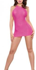 MSB742PIN2XL 1 153x300 - Halter Dress and G-String Pink Queen