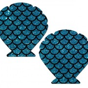 PASSHLGLTTQSBK556825dfdd019f 180x180 - Heart Silver Glitter Pasties O/S