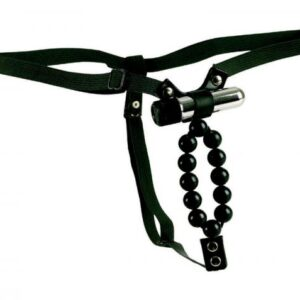 SE0060 25 3 300x300 - Vibrating Lover's Thong with Stroker Beads