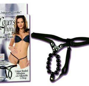 SE006003 1 300x289 - Lover's Thong w/Stroker Beads