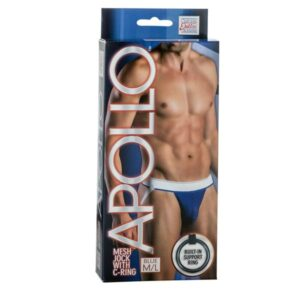 SE420310536d737b51510 300x300 - Apollo Mesh Jock with C-Ring Blue M/L
