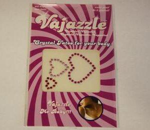 VJ907 300x260 - Vajazzle Multi Sized Colored Hearts