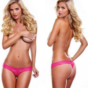 XGSV1HP544f42fe2546d 300x300 - Secrets Vibrating Lace Thong Pink OS