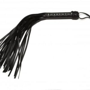 AL2041 300x300 - X Play Black Riveted Flogger