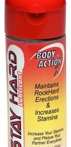 BA023 145x300 - Body Action Stay Hard Lubricant 2.3oz