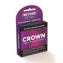 C2000352fd7fdd87ec3 - Crown Latex Condoms 3 Pack
