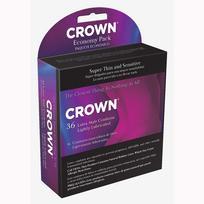 C2003652fd7fdeb8a94 - Crown Latex Condoms 36 Economy Pack