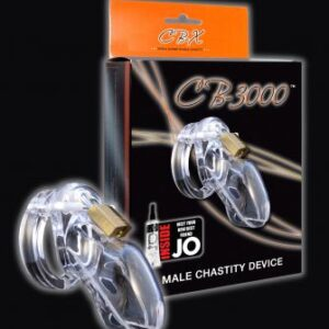 CB3000 1 300x300 - Cb-3000 Male Chastity Device 3 inch Clear Cock Cage