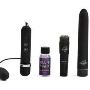 DJ095110 2 300x300 - Black Magic Pleasure Kit Velvet Touch Waterproof