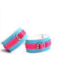 FR0350 2 - Ankle Restraint Pink/Blue