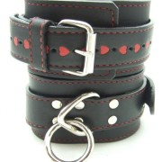 H2H313H 31445012474 180x180 - H2H Collar Leather Black with Red Hearts