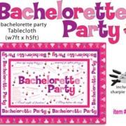 HO2515 180x180 - Bachelorette Party Tablecloth Trivia