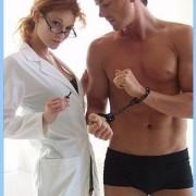 KL055 180x180 - Pink Bound Leather Wrist Cuffs