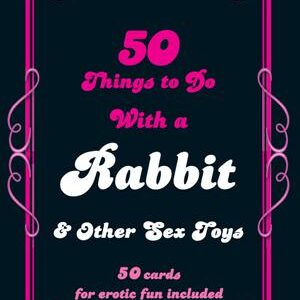 MPE36855245c117e68fa 300x300 - 50 Things To Do With A Rabbit Cards by Daisy Valetta