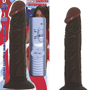 NW1897 2 1 300x300 - Afro American Whopper Vibrator - 8 inch