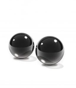 PD4433 23 258x300 - Fetish Fantasy Black Glass Ben-Wa Balls Small