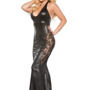 AL174602K5746beaf6c7a1 180x180 - Kitten Wet Look Mini Dress Red S/M