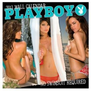 1001 0413 300x300 - 2013 playboy no swimsuit required wall calendar