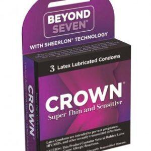 7623 03 300x300 - Crown Latex Condoms 3 Pack