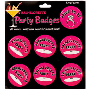 8609 20 300x300 - Bachelorette party badges - pack of 7