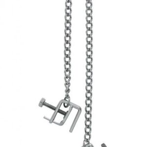 CNVELD 1990 18 1 300x300 - Adjustable Press Nipple Clamps With Link Chain