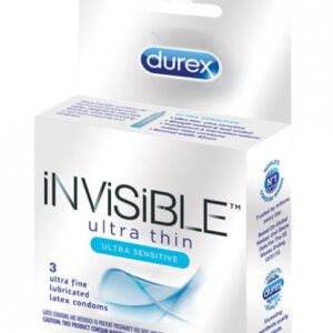 CNVELD 7607 0855279f8f83199 300x300 - Durex Invisible Ulta Thin Condom 3 Box