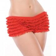 CNVELD C114 RD OS56ff988f72554 180x180 - Ruffle Shorts Back Bow Detail Red OS/XL