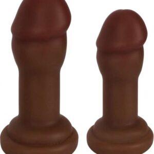 CNVELD CN 09 0502 11 21487965971 300x300 - Jock Anal Plug Duo 2 Piece Set Chocolate Brown