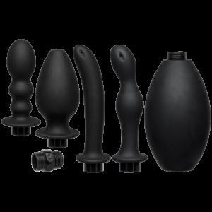 CNVELD DJ2401 20 21485204141 300x300 - Kink Flow Flush Set Anal Douche & 4 Accessories