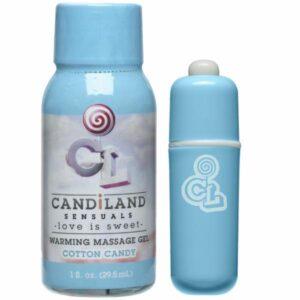 CNVELD DJ4250 12 21454603512 300x300 - Candiland Sugar Buzz Massager Set - Cotton Candy