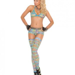 CNVELD EMV8938 MT OS53db656b2d6c9 300x300 - Bra Top, Booty Shorts, Thigh Highs Multi Color O/S
