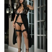 CNVELD GW916 BK X252c7e9e508b68 180x180 - Flyaway Long Dress W/matching Thong & Leg Garters Black 3x/4x
