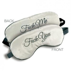 CNVELD IBIM2334 2 2 300x300 - F*ck Me F*ck You Mask Reversible Blindfold O/S