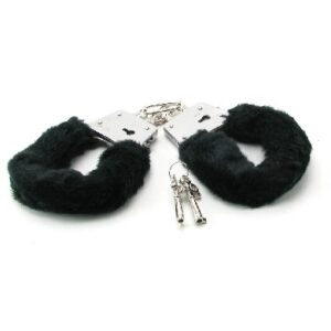 CNVELD PD3800 23 1 300x300 - Beginner's Furry Cuffs - Black