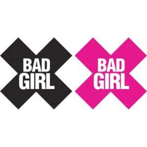 CNVELD PK326 21469662003 300x300 - Bad Girl X Pasties 2 Pairs 1 Black, 1 Pink
