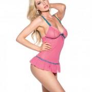 CNVELD SOHSS569 HP L056dc0e15c3cc6 180x180 - Sheer Ruffled Babydoll Hot Pink Medium