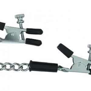 CNVELD SPF 29 1 300x300 - Adjustable Alligator Nipple Clamps With Link Chain Silver