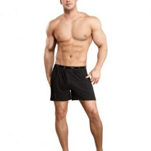 MP1601 BK M0 300x300 - Bamboo Boxer Short Black Md