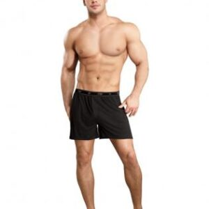 MP1601 BK S0 300x300 - Bamboo Boxer Short Black Sm