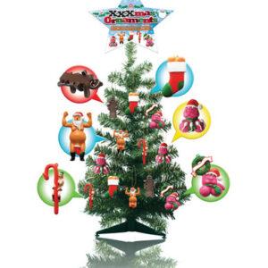 PD8130 99 300x300 - 2 ft. tall xmas tree w/24 xxxmas ornaments
